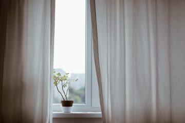 Installer des rideaux transparents dans le salon