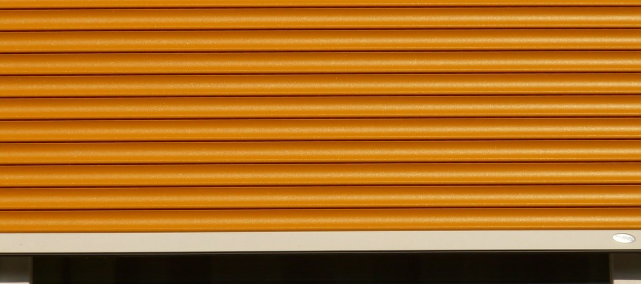 Roller shutters for comfort, beauty and security